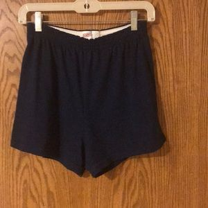 Soffe Navy Blue Athletic Shorts Size Large